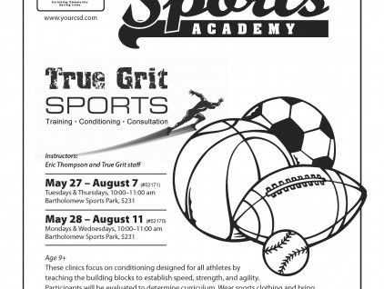 14 Summer True Grit Sports Academy