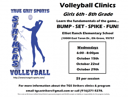 TGS Strikers Volleyball Clinic