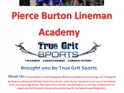 Pierce Burton Lineman Flyer